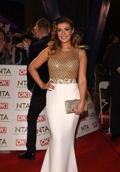Kym Marsh – National Television Awards in London 2017 Star Fashion, Unique Fashion, Fashion Photo, British Celebrities, Beautiful Celebrities, Beautiful Women, Kym Marsh, Brunette Beauty, Latest Outfits