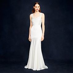 Silk Wedding Dresses & Long Gowns : For The Bride | J.Crew