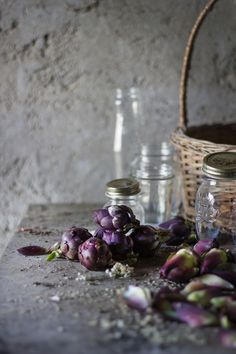 Canned Goods: Carciofini Sott'Olio - Baby Artichokes Preserved in Olive Oil
