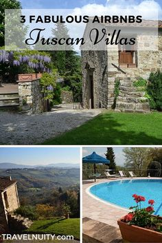 3 fabulous but affordable Tuscan Villas that you can rent on Airbnb