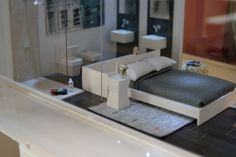 Habitación y baño. Casa Fuerteventura.