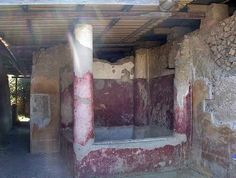 The villa had its own private bath suite (i) (pictured left). Although smaller than those found in other villas in Stabiae, the suite still had the full compliment of tepidarium, caldarium and frigidarium. Pompeii Ruins, Pompeii And Herculaneum, Ruined City, Frozen In Time, Mystery Of History, 1st Century, Time Capsule, Ancient Rome, Roman Empire
