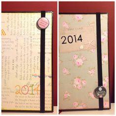 #scrapbooking #agenda #datebook
