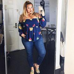 Brunch Outfit Curvy Plus Size Fashion 60 Ideas For 2019 Fashionista Trends, Look Plus Size, Curvy Plus Size, Plus Size Clothing Stores, Plus Size Womens Clothing, Plus Size Fashion For Women, Plus Fashion, Womens Fashion, Curvy Outfits