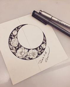 """6,451 mentions J'aime, 39 commentaires - Tattooist Grain (@tattoo_grain) sur Instagram: """"또 꽃달…"""""""
