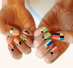 We now return you to your regularly scheduled programming.  @Just Christine Lawrence needs this mani!