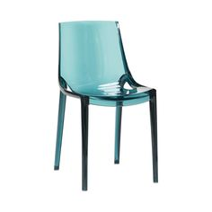 Cool green plastic chair. Product number 970302 - Designed by Hübsch