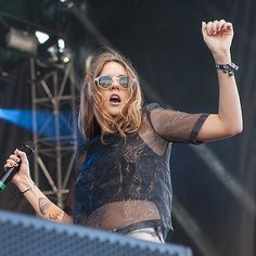 Tove Lo is my absolute favorite. i am in love with her im pretty sure