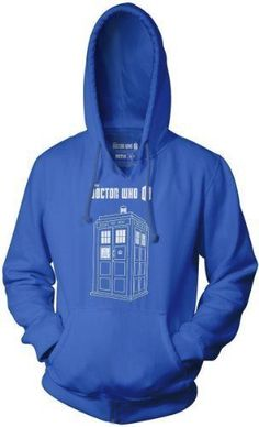 Commemorate your favorite cult classic with an awesome Doctor Who Series 7 Linear TARDIS Logo Adult Royal Blue Hoodie . Free shipping on Doctor Who orders over $50.