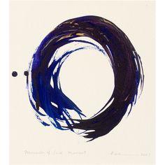 """Miracles of Each Moment, No. 2"" print - Kazuaki Tanahashi"