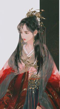 A hub of fabulous Chinese novels, where you can read, translate and create. Fantasy Girl, Chinese Drawings, China Art, Chica Anime Manga, Japanese Prints, Anime Art Girl, Ancient Art, Aesthetic Art, Amazing Art