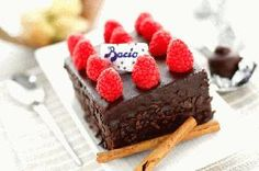 Baci Trifle with Rasperries. Perugina dark chocolate and fresh raspberries complement each and make the perfect pairing.