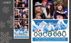 10MER Is there a better way to say Happy Holidays than with Penguins? Our accountant Kathy doesn't think so. #photobooth  imagecinem.com
