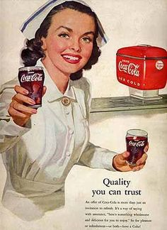 Quality (perhaps medicinal quality?) you can trust...  Coca-Cola!