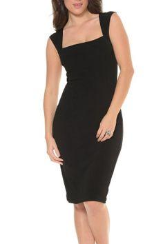 Sacha Drake Iris Cap Sleeve Dress - Womens Knee Length Dresses at Birdsnest Online