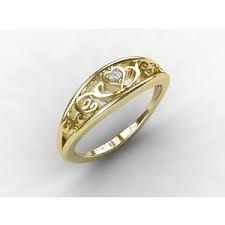 Image result for filigree band with diamond