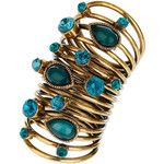Blue Stone Spring Ring