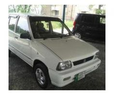 Suzuki Mehran White Color Model 2009 No Accident For Sale In Lahore