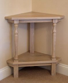Fitted Corner Table For Small Landings   Great!