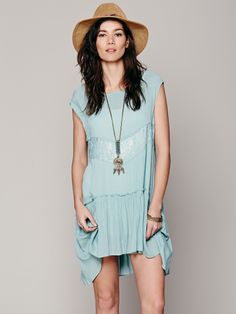Free People Swing It With Lace Slip, AU$95.07