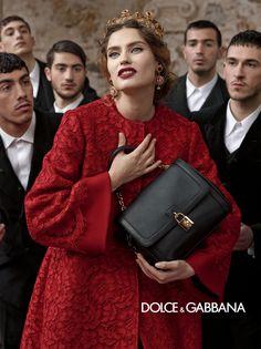 Dolce and Gabbana ad campaign FW 2013 Hrisskas style-11 on Стилът на  Hrisskas  81f3e30fe23