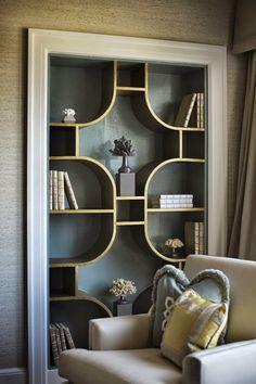 дневник дизайнера: Красивые полки из дерева для гостиной в классическом стиле. 45 фото для вдохновения