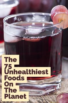 GROSS! Stay away from these foods at all cost!