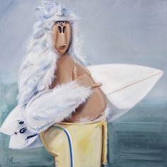 "Saatchi Art Artist Isabelle Alford-Lago; Painting, ""Shaka SOLD"" #art"