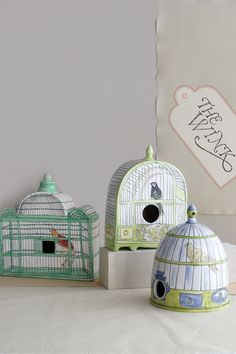 Trompe L'Oeil Birdhouses - Molly Hatch
