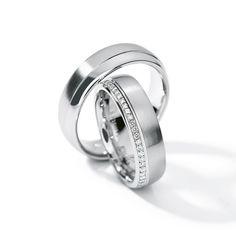 Henrich + Denzel - Brillante Trauringe - 950 Platin - Diamanten +++ Henrich + Denzel - Brillante Wedding Rings - 950 Platinum - Diamonds