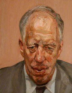Head of a Man 1991, Lucien Freud