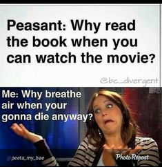 48 Ideas for hunger games quotes funny reading All Meme, Stupid Funny Memes, Funny Relatable Memes, Haha Funny, Hilarious, Funny Humor, Funny Stuff, Funny Memes For Kids, Shrek Funny