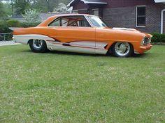 1966 PRO STREET NOVA. Like the Molded Exhaust in front of rear tire