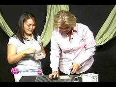 Tile Coaster Stamping - Part 2 - The Stamp With Tami Show - YouTube