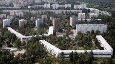 1960's were a time of economic growth and urbanization. Helsinki district of Pihlajamäki was mostly built in the 60s