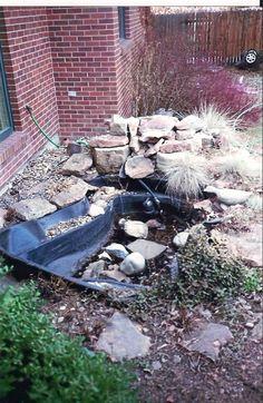 broken down fountain