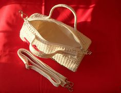 Project bag - Crocheted