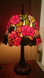 Stained Glass 'Poppy' Desk Lamp Ottawa Ottawa / Gatineau Area image 1
