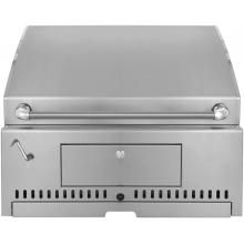 30 Inch Stainless Steel Built-In Charcoal Grill with Adjustable Charcoal  Tray : BBQ Guys