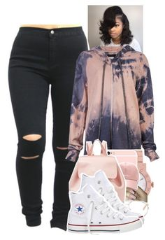 """Untitled #1567"" by toniiiiiiiiiiiiiii ❤ liked on Polyvore featuring CESAR ARELLANES, Marc by Marc Jacobs, Chloé, Mansur Gavriel and Converse"