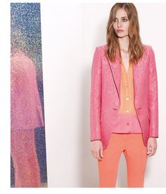 Stella Mccartney - Coral Tailoring And Accessories Have Arrived