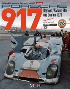 Cover Porsche 917 Daytona, Watkins & Can-am 1970 4 Model Factory Hiro