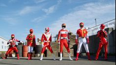 Gobuster vs Gokaiger All Red Change