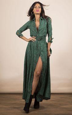 b7c033ffac0 Dove Dress In Green Leopard By Dancing Leopard