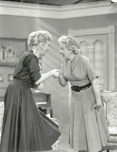 lucy & Ethel - I Love Lucy