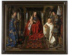 Jan Van Eyck Madonna del canonico van der Paele 1436