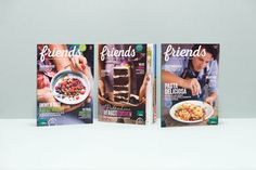 buerox-magazin-merkur-friends_01 Editorial Design, Co2 Neutral, Cereal, Friends, Breakfast, Food, Autumn Cake, Morning Coffee, Amigos
