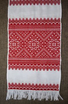Ukrainian Traditional Embroidered RUSHNYK (towel) For Wedding Ceremony Or Home…
