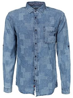 Jjorface Shirt One Pocket L/S - Jack & Jones - Light Blue - Shirts (Men) - Clothing - Men - NlyMan.com