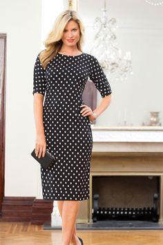 Women's Clothing Online - Capture Spot Dress - EziBuy Australia